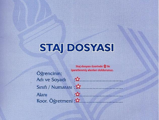 Staj Defteri Dosyasi Nasil Doldurulur Stajyerim